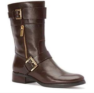 Michael Kors Boots Gansevoort Chocolate L…